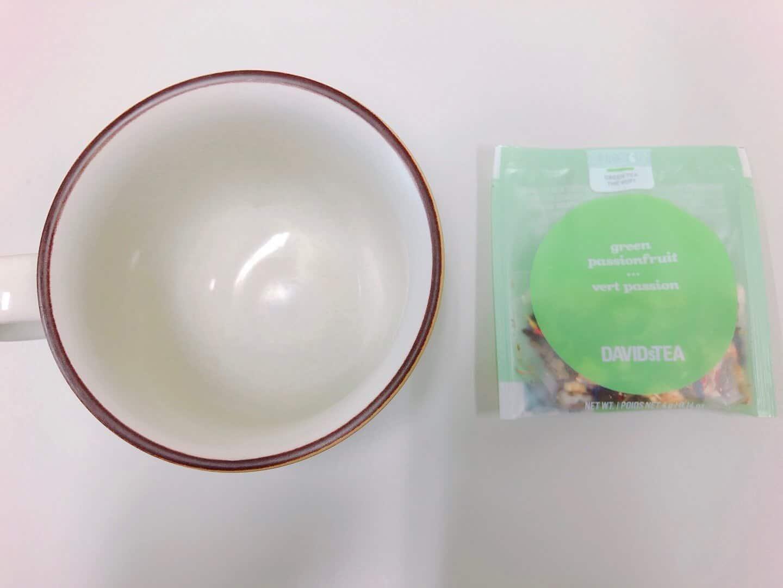 DAVIDsTEA「greenpassionfruit(グリーンパッションフルーツ)」の味