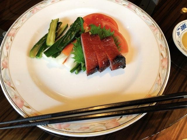 重慶飯店「水仙」前菜の写真