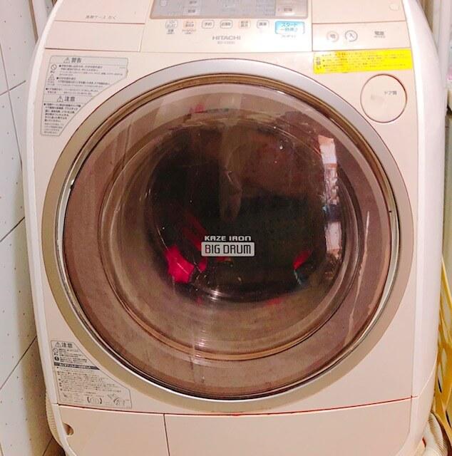 ドラム式洗濯機写真