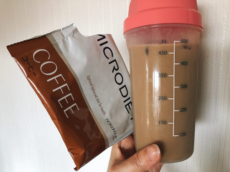 マイクロダイエットコーヒー味の写真
